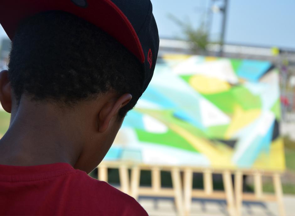 Enfant, garçon, jeune, rap, hiphop, casquette, à l'envers, style, danse, swag