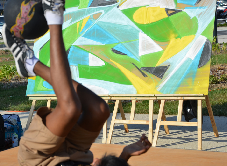 animation, graffiti, street art, jeunesse, urbain, ambiance, musique, danse, energie