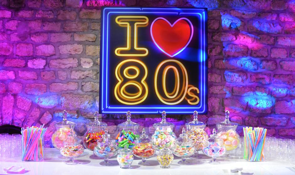 Soirée sur le thème des années 80