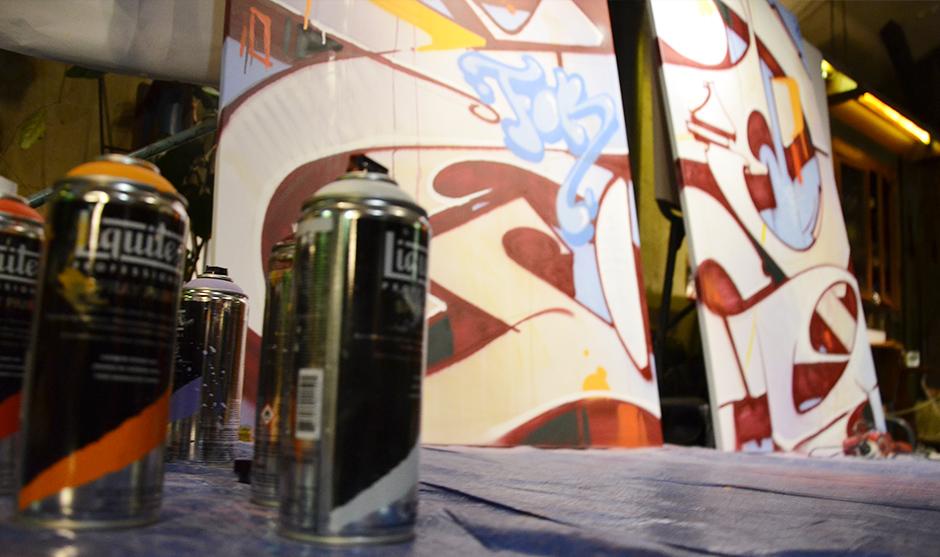 Bombes de peinture spécialisées pour la peinture en intérieur