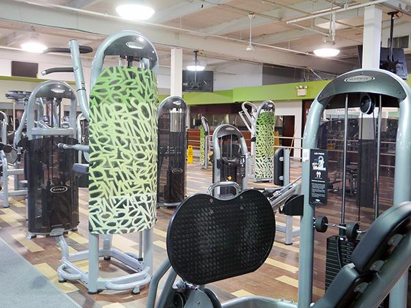 Dégradés de tags peints sur les machines
