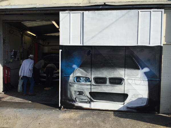 Voiture archives graffiti et street art for Garage bmw a paris