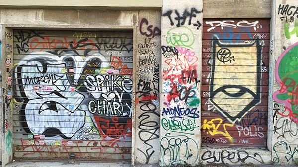 Rome, street, art, style, hand style, tag, saturation, spike, charly