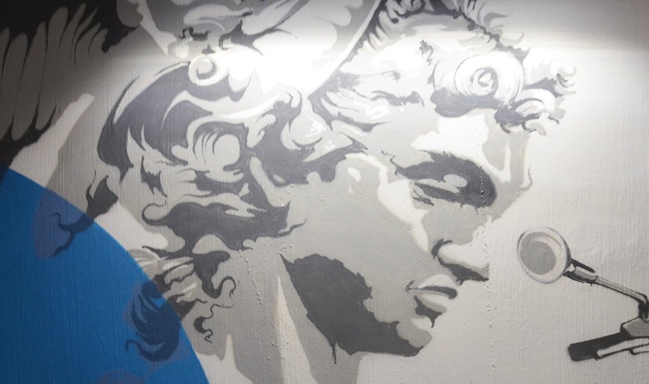 statue, Italie, renaissance, Florence, Firenze, portrait, graff, graffiti, graph