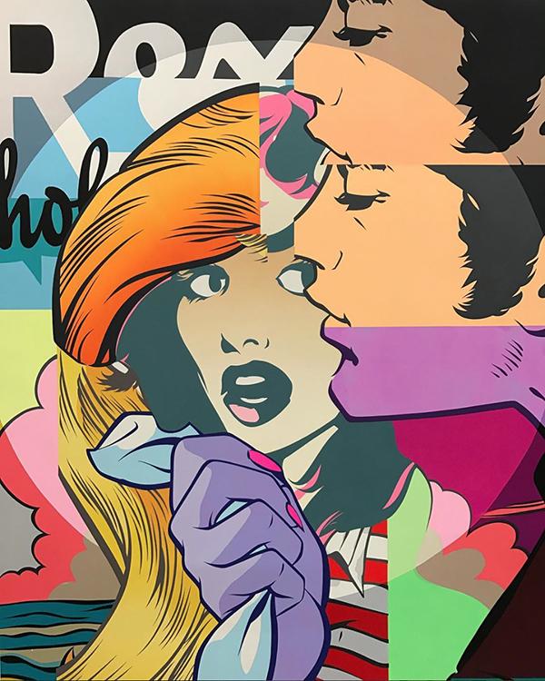 Le graffiti artiste natif des USA manie l'art de la couleur comme peu y arrivent