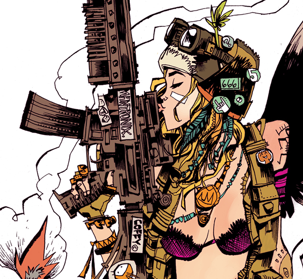 Tank girl love weapon