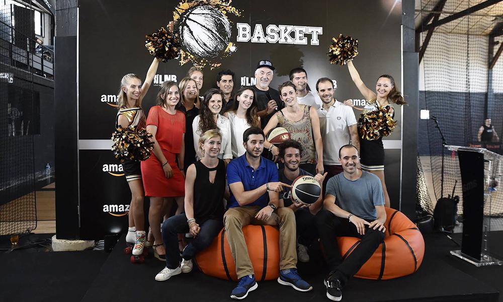 soirée événementielle paris basket hoops factory