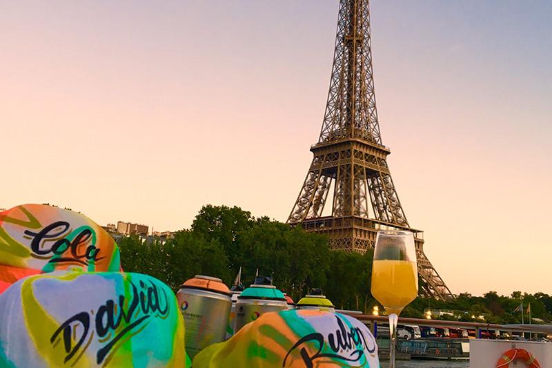 Personnalisation, casquette, barmitsva, organisation, péniche, Paris