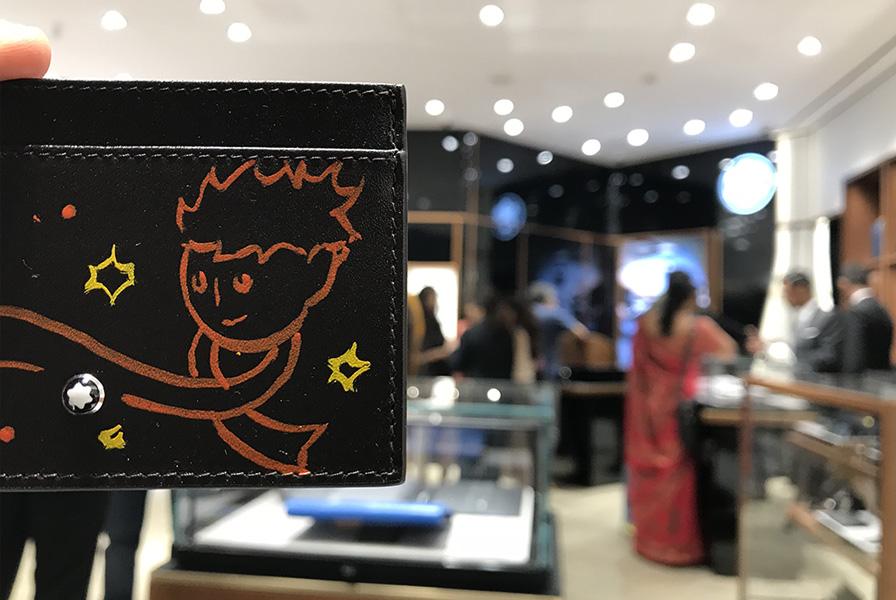 Intervention, le petit Prince, Chennai, personnalisation