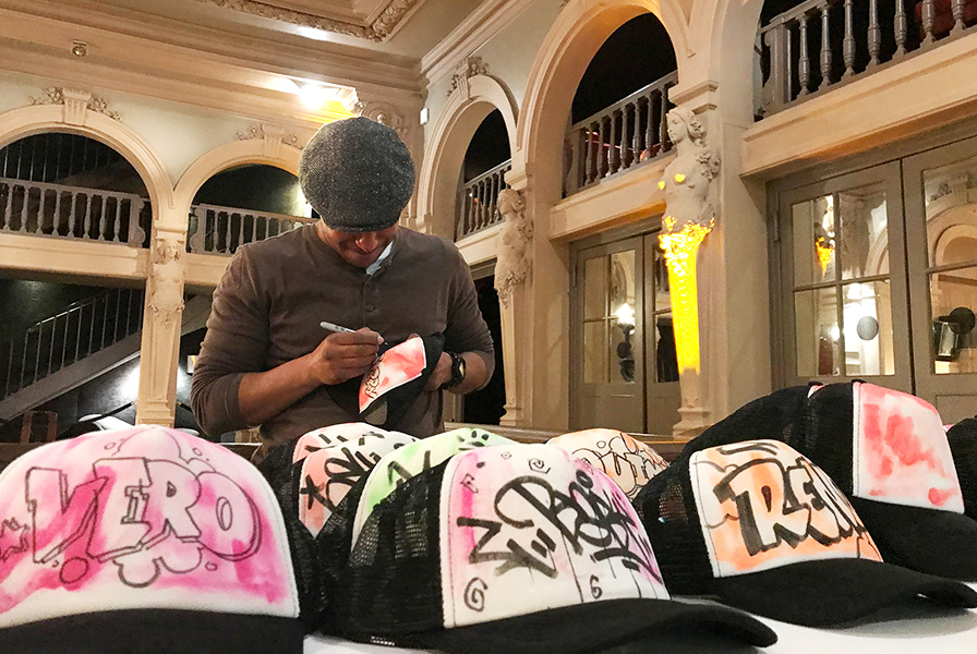 Art, personalisation, graffeur, en direct, live, street art