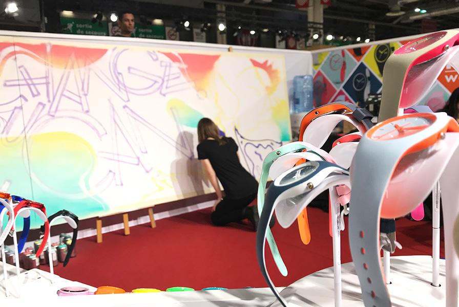 art, bombe, spray, démo, démonstration, live, graffiti