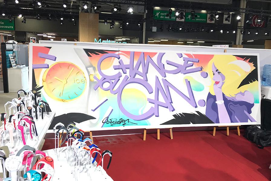 salon, fair, event, evenementiel, graffiti, graph, live