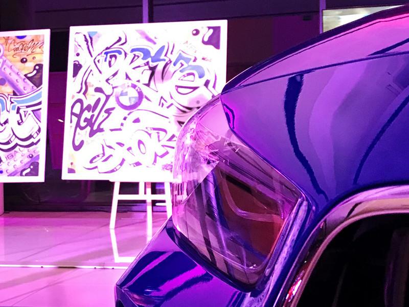 BMW X2, Street Art, Plaisir, Performance live
