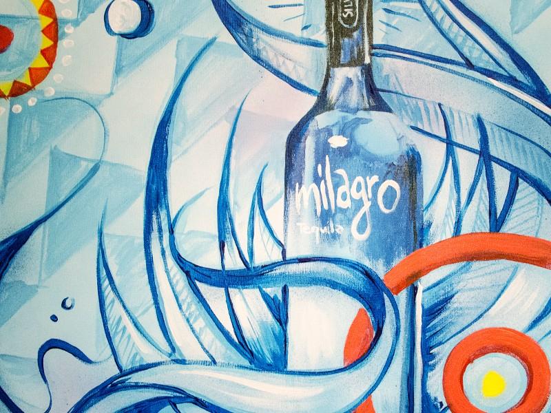 soirée, bar, paris, événementiel, nuit, rive gauche, peinture live