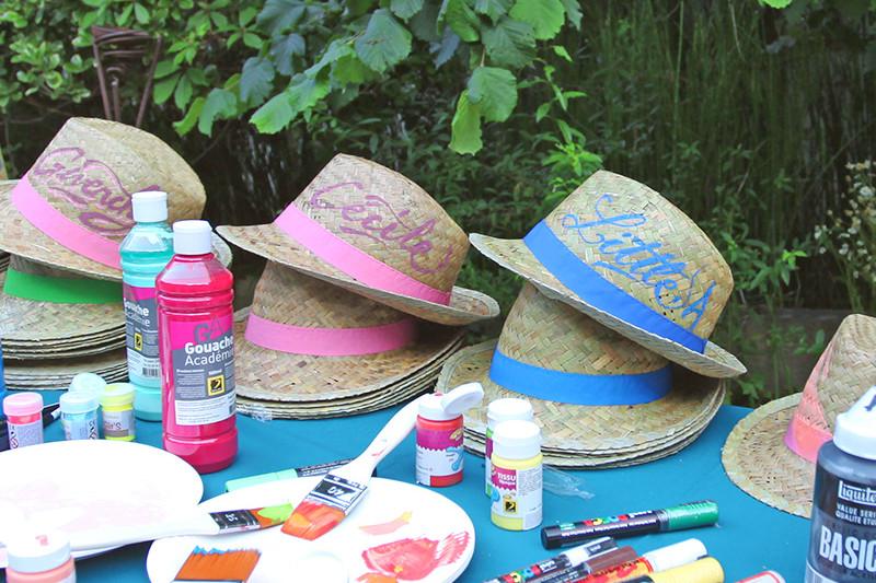 chapeau, paille, été, guinguette, esprit, personnalisation, paris