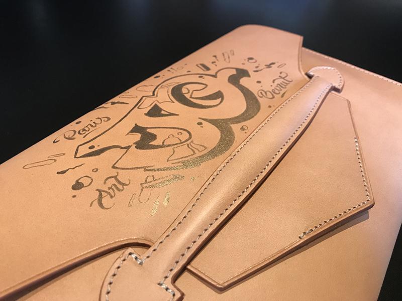 sac à main, personnalisation, paris, cuir