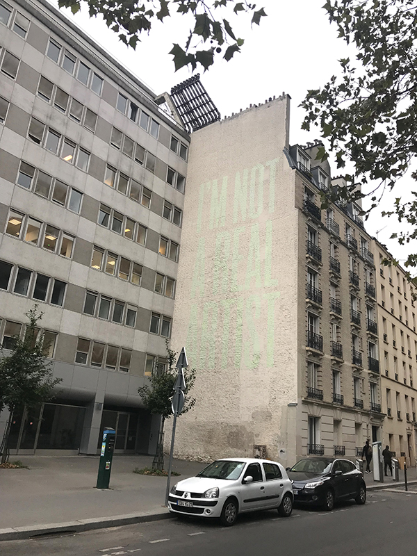 Real, artist, street art, Paris