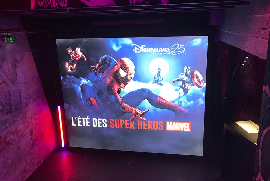 Disney, Super Héros, personnalisation, événementiel, live, Yoyo