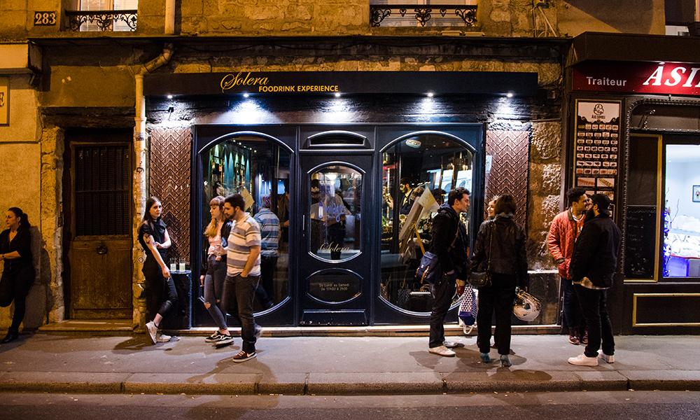 thématique amérique du sud, soirée parisienne