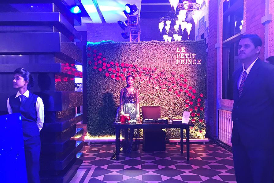 Espace personnalisation, Mumbai, art, Le petit Prince