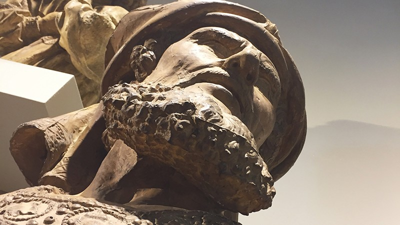 éclairage, lumière, vue, statue angle, original