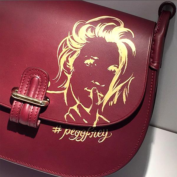 Personnalisation, sac, maroquinerie, Céline lefébure, art, cuir