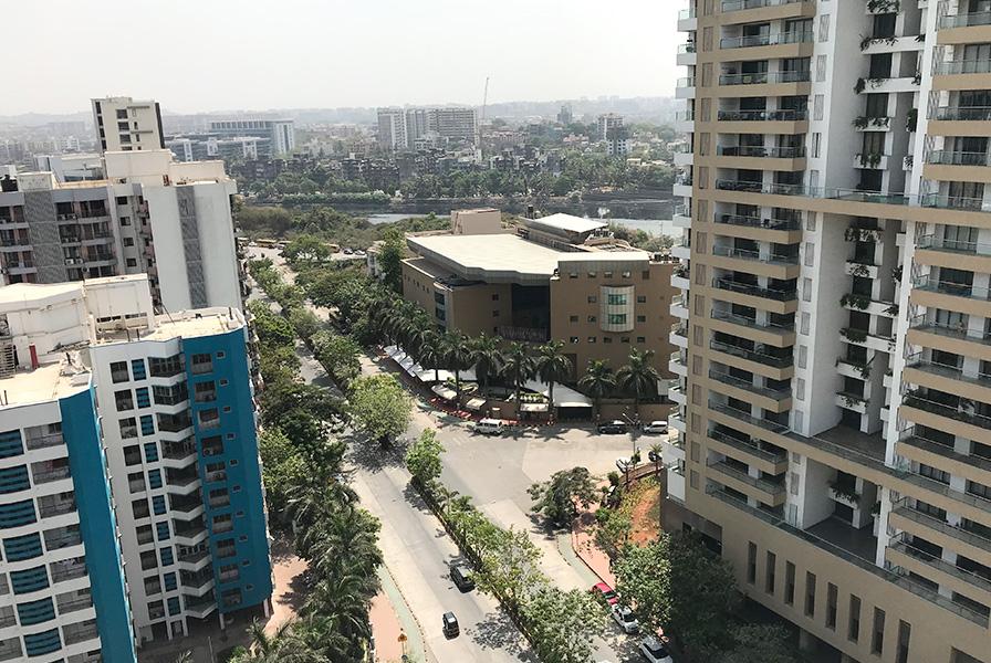 vue bombay, Mumbai, view, rue, environnement urbain