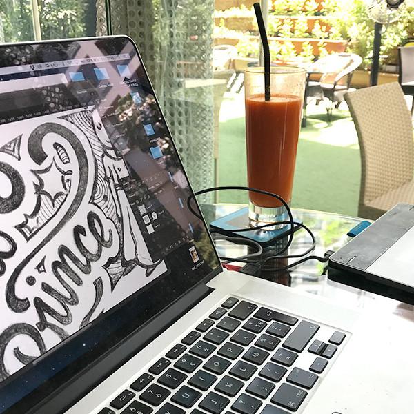 Sofitel, Mumbai, Illustration, Digital art