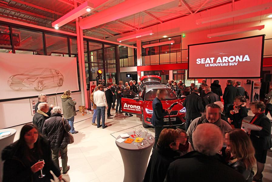 Seat Arona, le nouveau SUV by Seat