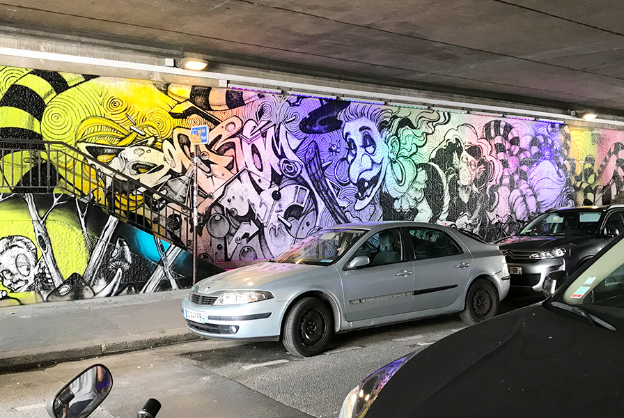 street art, pont broca, rue broca, vieux paris