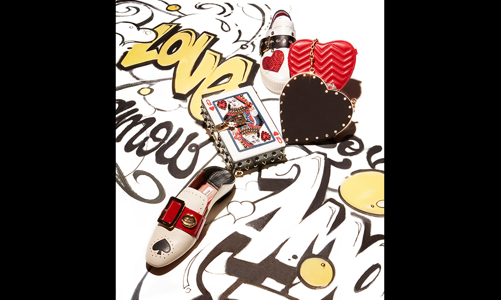 composition art accessoires, magazine féminin