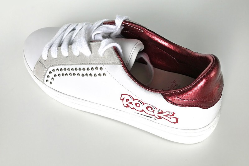 basket, banquette, sneakers, support cuir