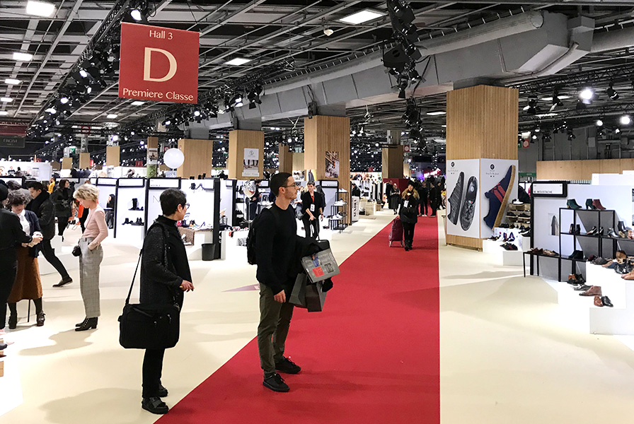 Hall 3, Porte de Versailles, palais des expositions, professionnels mode et textil