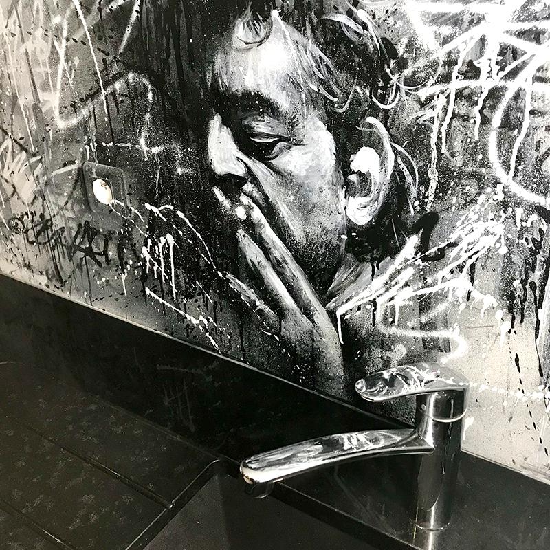 Décoration, cuisine, idée, originale, Serge Gainsbourg, originale