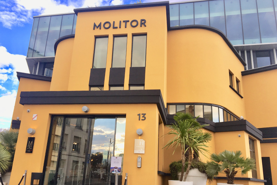 façade, entrée, Molitor, paris, piscine, monument