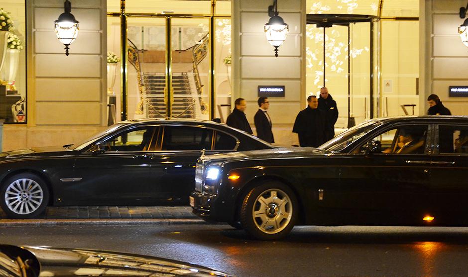 Services voiturier au Péninsula Hotel de Paris
