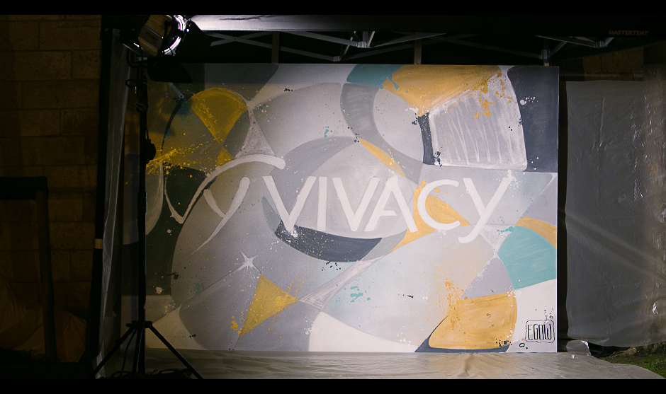 Vivacy vu par l'artiste