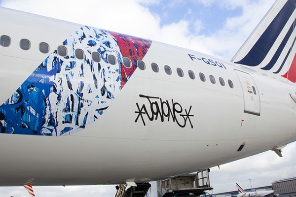 Air France signé Jonone