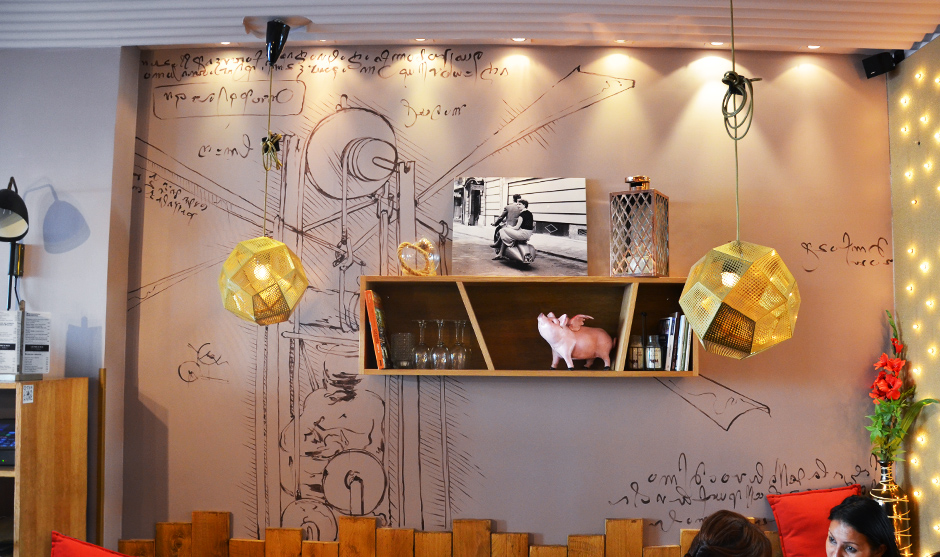 décoration murale, inspiration, croquis, sketch, renaissance, de vinci