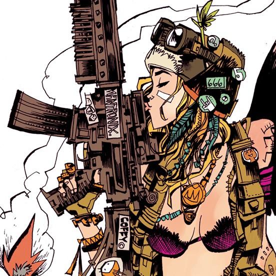 Tank girl love weapon