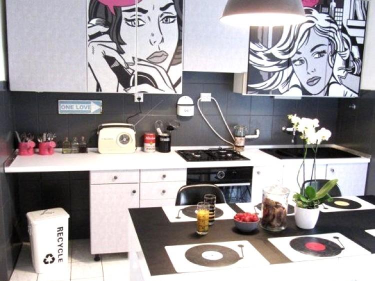 décoration, pop, multicolore, paris, graffiti, street art