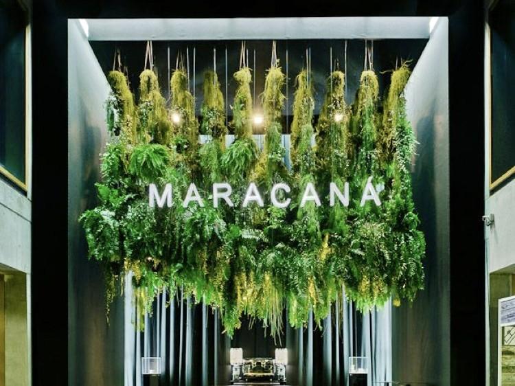 Installation, végétale, monumentale, décoration, architecture intérieur, déco, verdure
