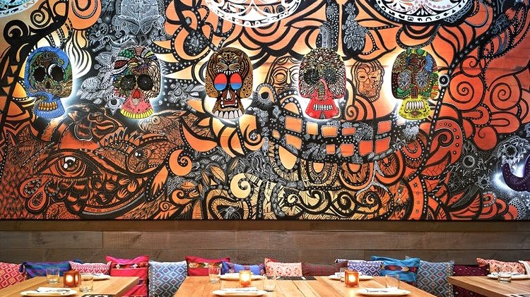 décoration, intérieure, paris, street art, graffiti, graffeur, habillage, déco, fond