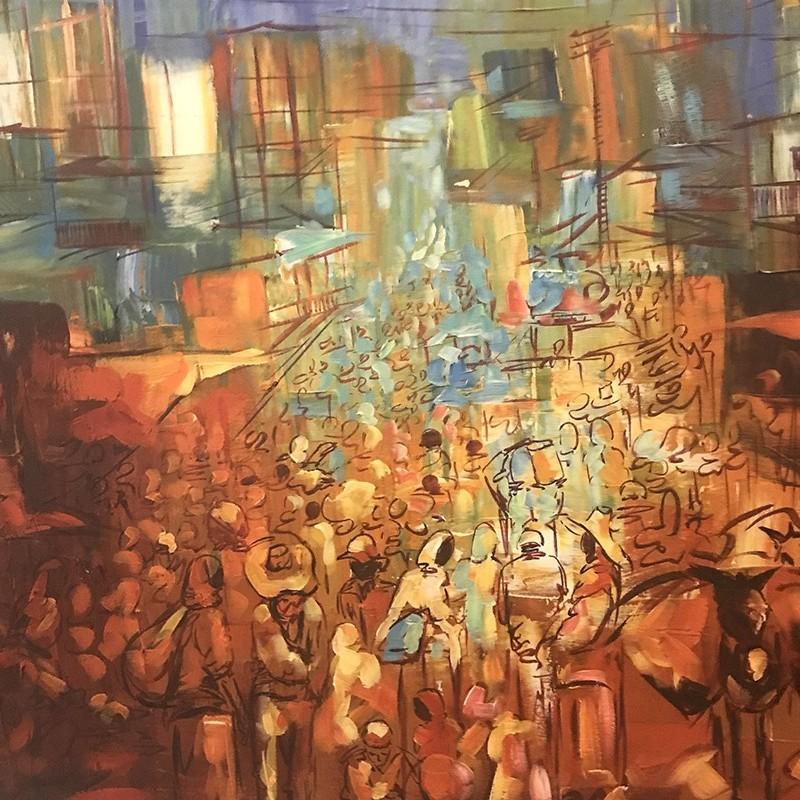 Art, Addis Abeba, Ethiopie, contemporain