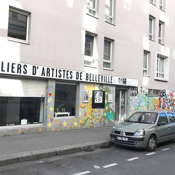 ateliers, artistes, belleville, paris, 19, art