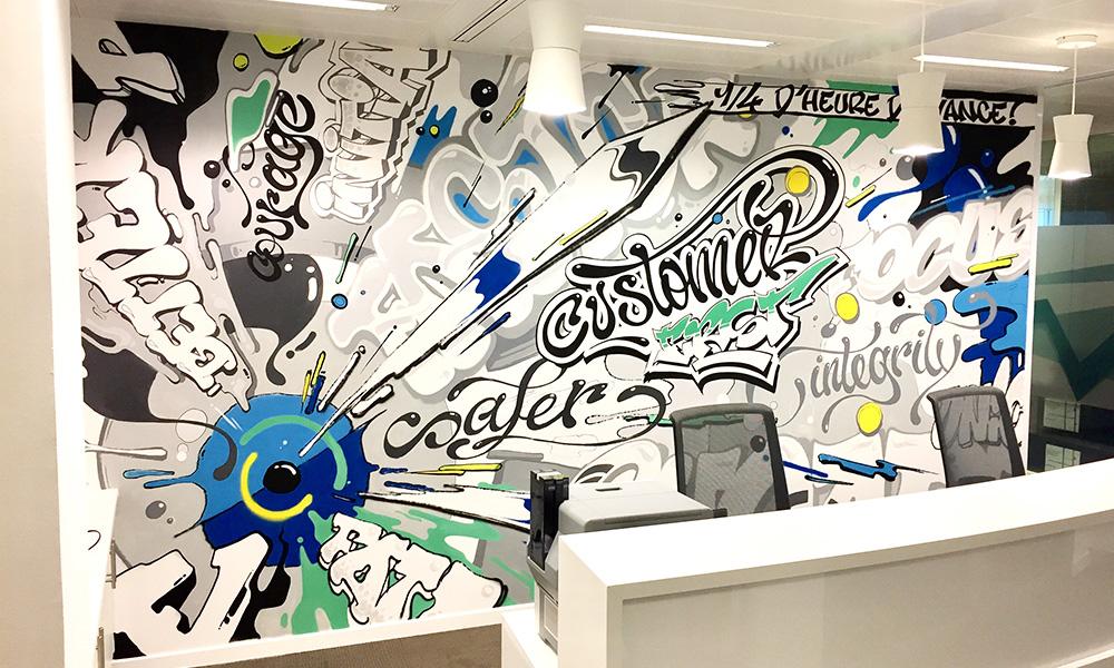 graffiti , entreprise assurance, couleurs, art, graff, tag, artiste, décoration.