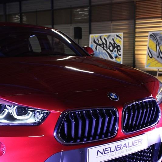 BMW X2, Street Art, Graffiti, Live