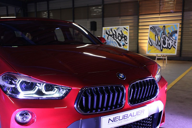 BMW X2, Street Art, Graffiti, Live