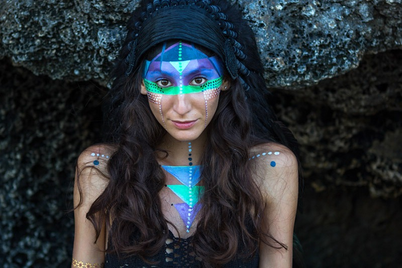 art, body painting, peinture sur corps, spectacle, couleur, arts vivants, paris