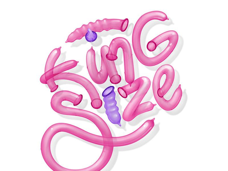 King size, condoms, preservatives, creation, graffiti